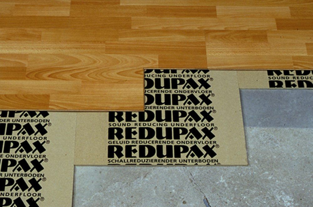 Redupax 174 Acoustic Underlayment For Floated Floors Sound Seal